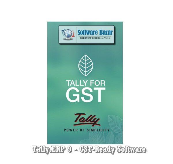 Tally ERP 9 - GST-Ready Software