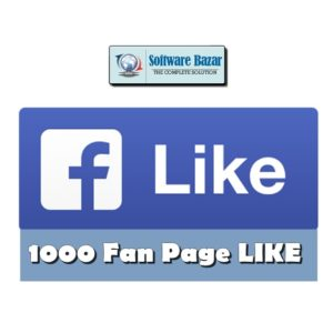 1000+ Facebook Fan Page Likes