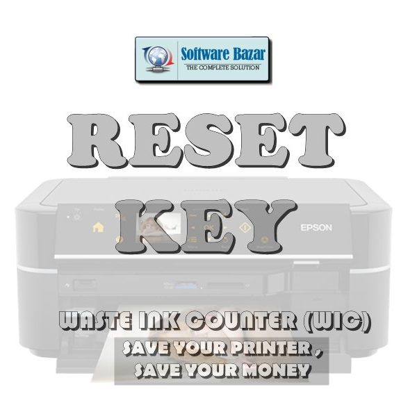 WASTE INK COUNTER - WIC - RESET PRINTER KEY